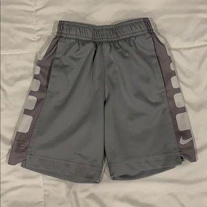 Little Boys Dri-Fit Gray Nike Shorts Size 3T